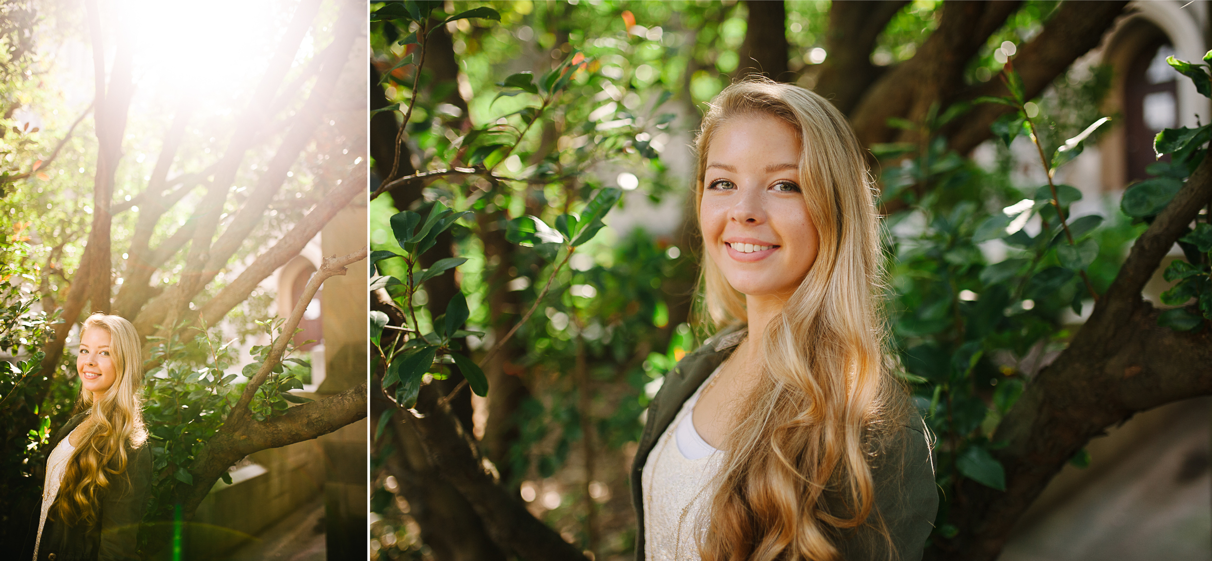 Free-spirited high school senior photos by Tara Polly Photography