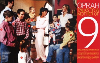 "Oprah Joins the  Sansone Family, an excerpt from her ""top interviews"" book."