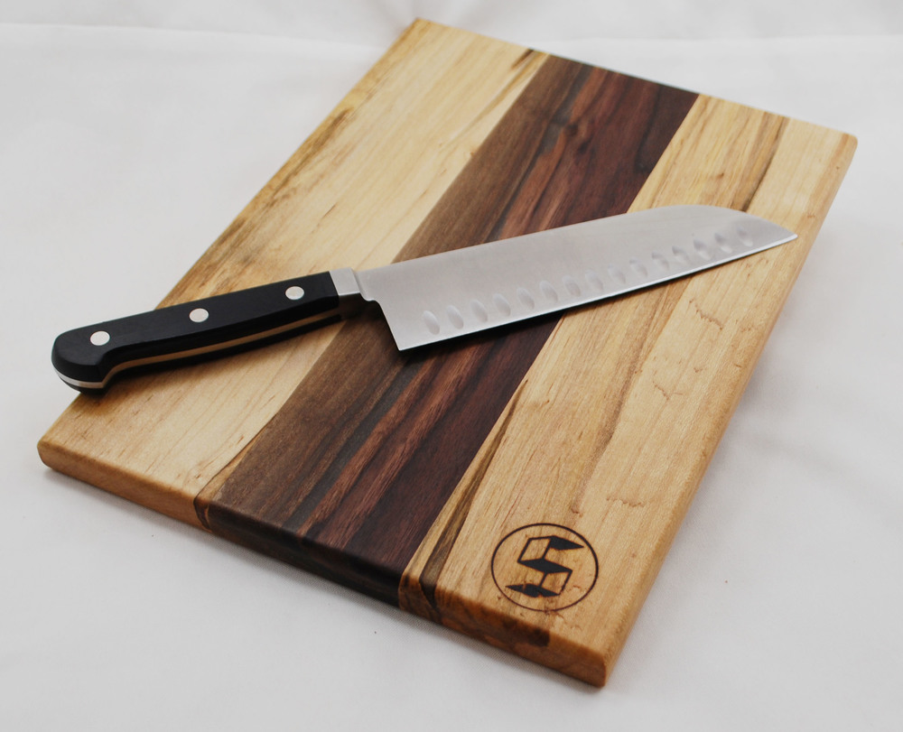 maple walnut cutting board angle.jpg