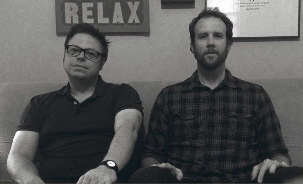 Joshua Wentz and Steve O'Connell of Chicago based Folk Rock duo,Silvergirl.