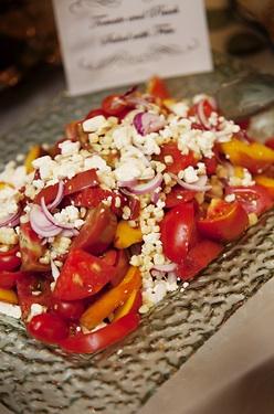 Salad  Tomato, Peach, and Corn Salad