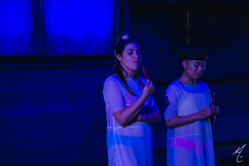 Dancers: Lauren Parra, Hua-En Hung