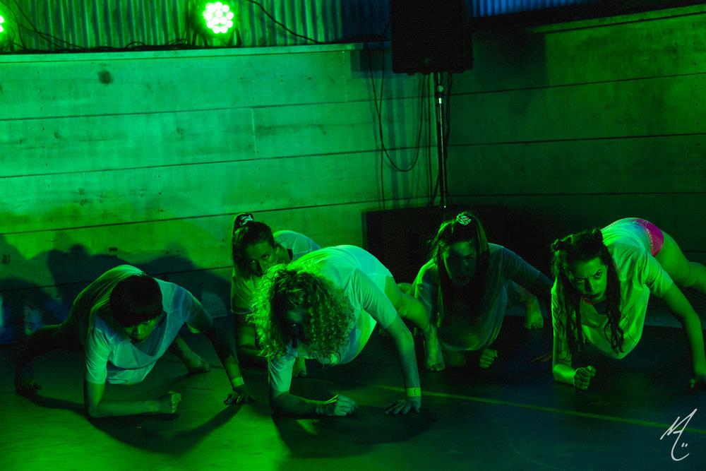 Dancers: Alexa Capareda, Shanna Fragen, Hailley Laurèn, Lauren Parra, Peyton Cunningham