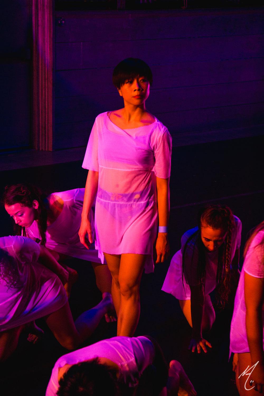 Dancers: Alexa Capareda, Peyton Cunningham, Katie Hopkins