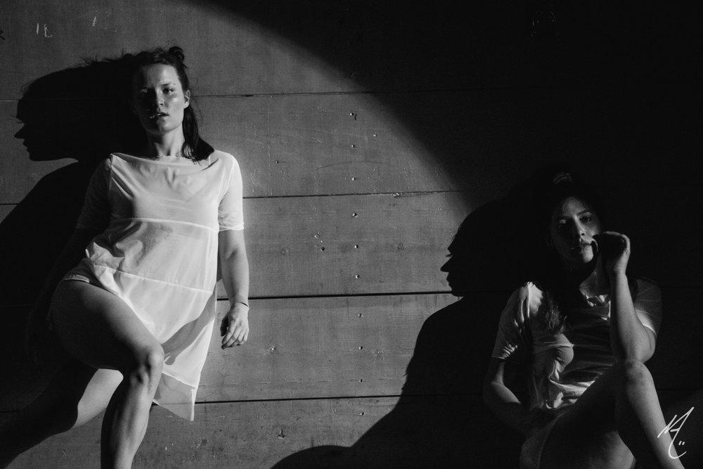 Dancers: Laura Mobley, Lauren Parra