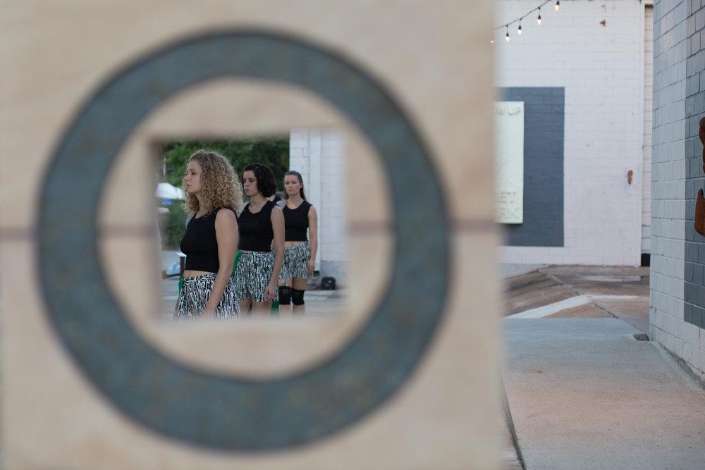 Dancers: Hailley Laurèn, Yvonne Keyrouz, Laura Mobley