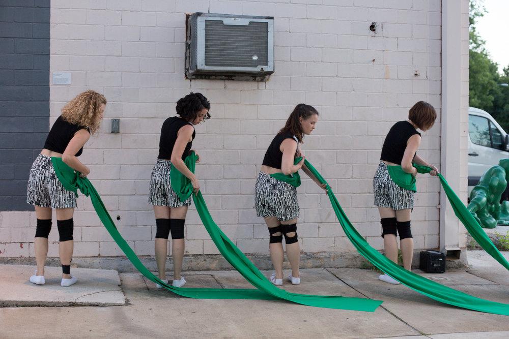 Dancers: Hailley Laurèn, Yvonne Keyrouz, Laura Mobley, Taryn Lavery