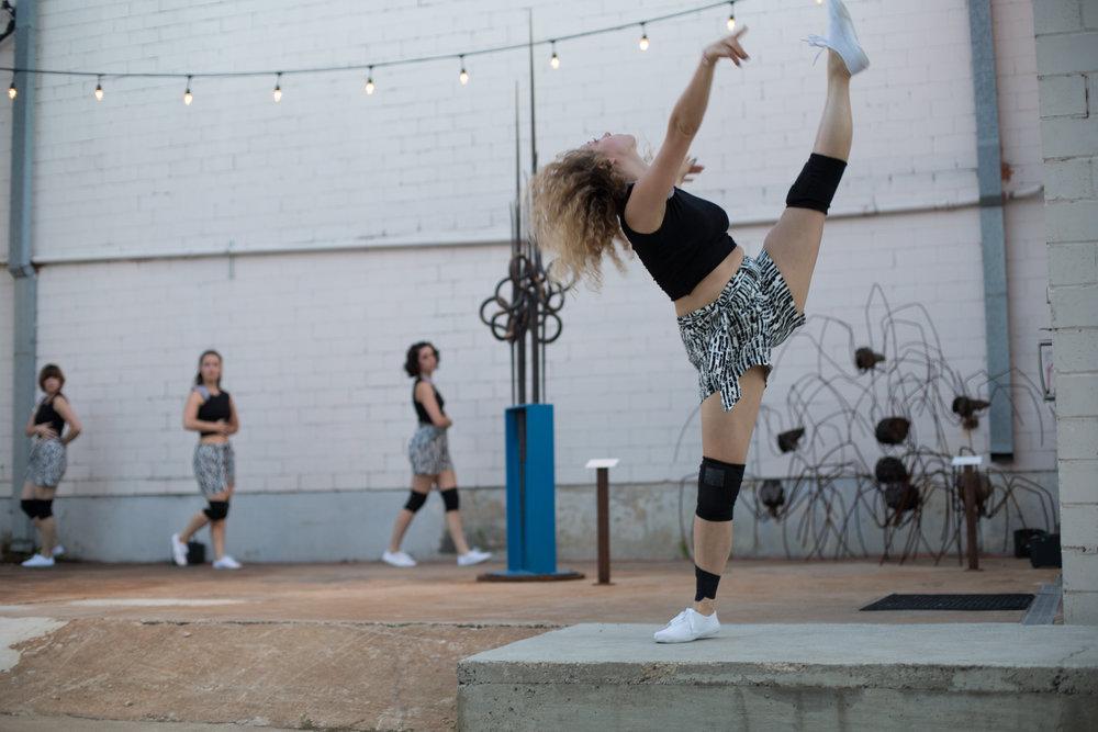 Dancers: Hailley Laurèn, Taryn Lavery, Laura Mobley, Yvonne Keyrouz