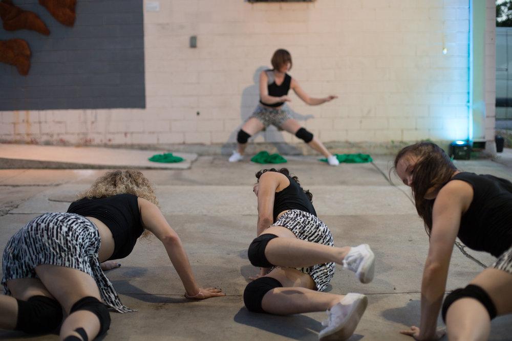 Dancers: Taryn Lavery, Hailley Laurèn, Yvonne Keyrouz, Laura Mobley
