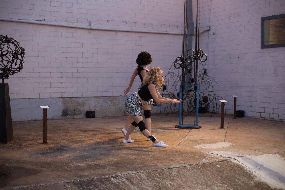 Dancers: Hailley Laurèn, Yvonne Keyrouz