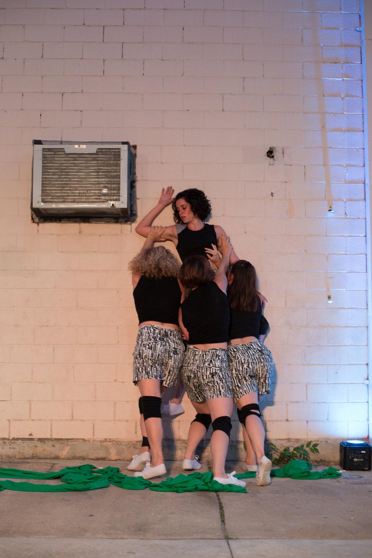 Dancers: Yvonne Keyrouz, Hailley Laurèn, Laura Mobley, Taryn Lavery