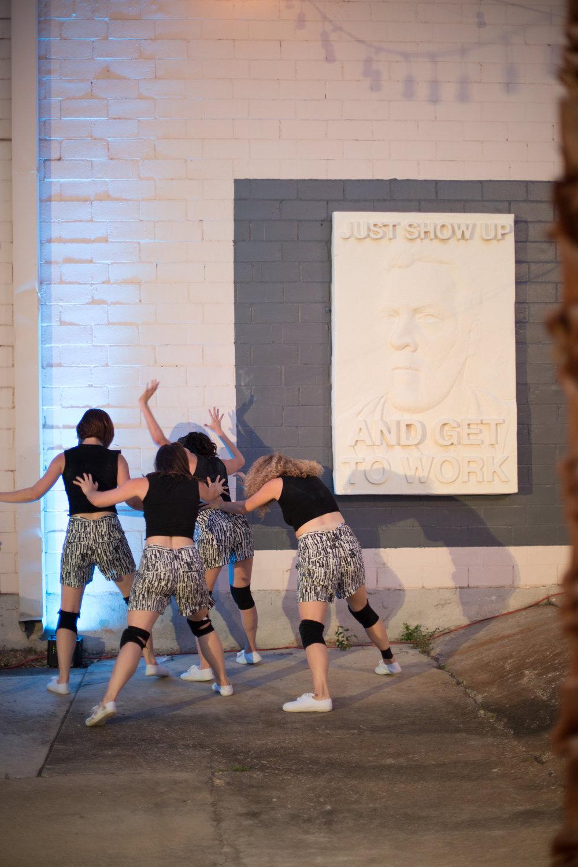 Dancers: Taryn Lavery, Laura Mobley, Yvonne Keyrouz, Hailley Laurèn