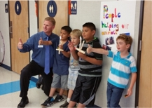 Brock Falkenberg, Lake County Superintendent of Schools   at   Minnie Cannon Afterschool Program