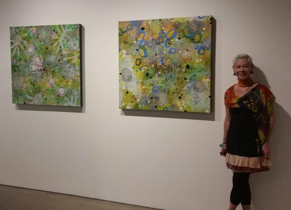 Fellow Showing Artist Betsy Stewart from Washington DC