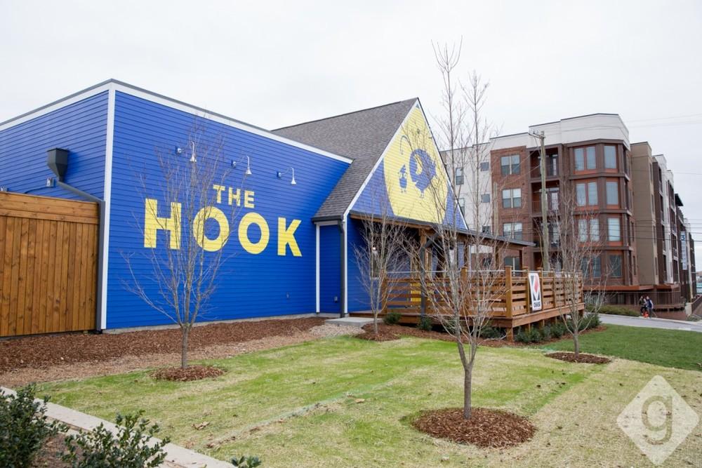 Nashville patio spaces - The Hook Nashville