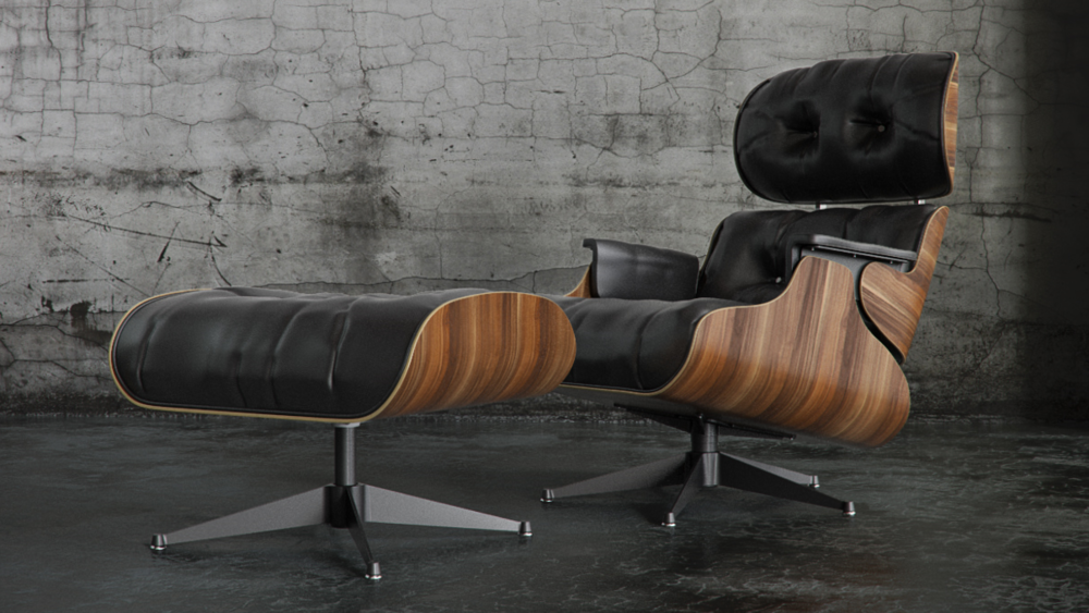 Eames Lounge Chair and Ottoman (1956) | Herman Miller