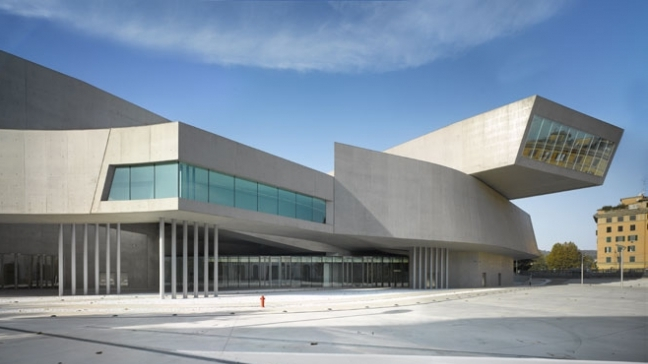 MAXXI National Museum | Zaha Hadid Architects