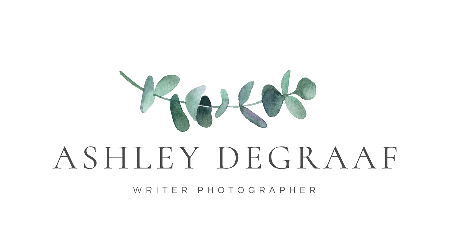 Ashley Degraaf Writer Photographer