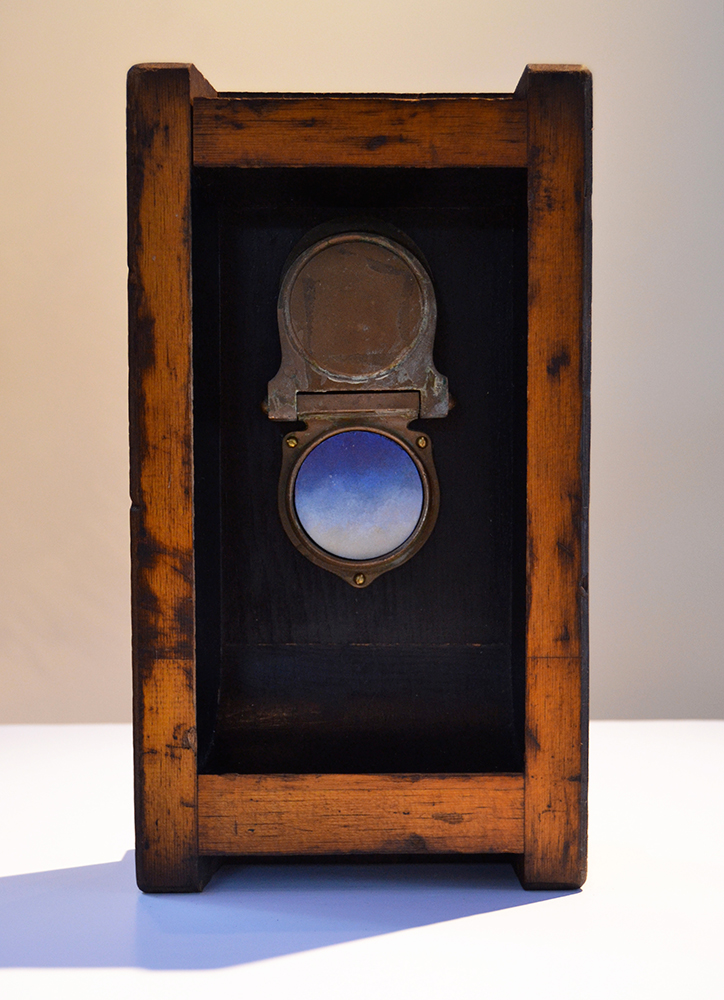 030 – Knock There,  2014 Mixed media 14.25 x 8 x 4 inches