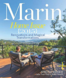 Lamperti Contracting and Design in Marin Home Magazine