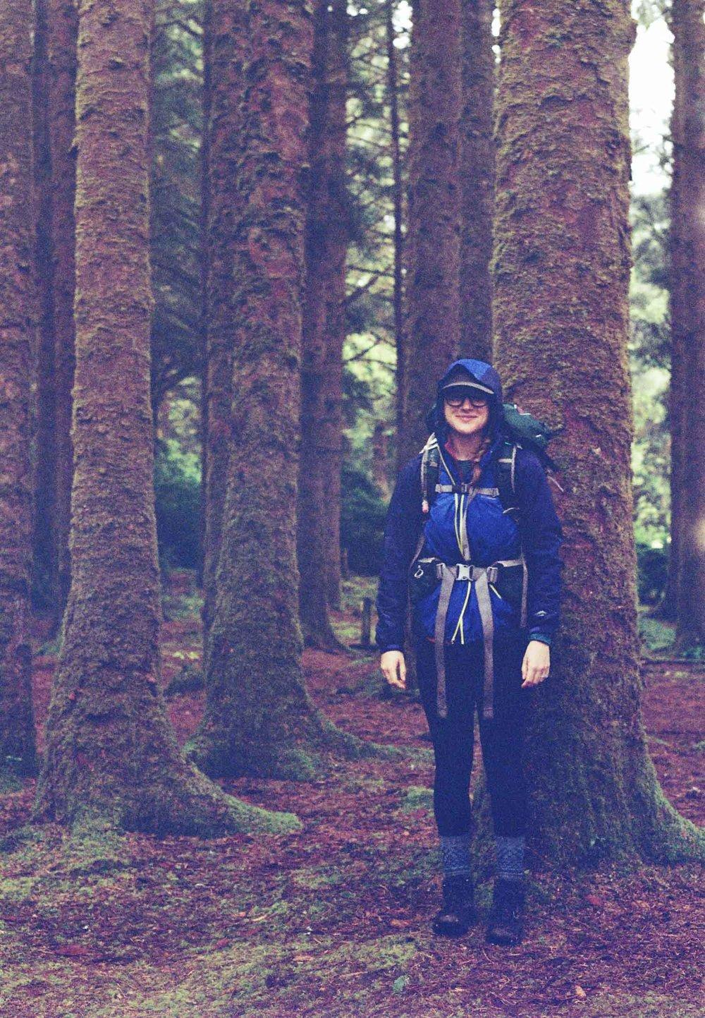 Eowyn, Oregon. Film photo taken by Birralee Hassen.