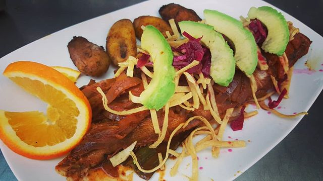 Come on down to Ole tonight for our Pescado Yucateco! Whole fish of the day paired with fried sweet plantains. Yum! #ole #olerestaurantgroup #pescado #tasteofmexico #cambridge #inmansquare #mexicanfood #margaritas #authentic