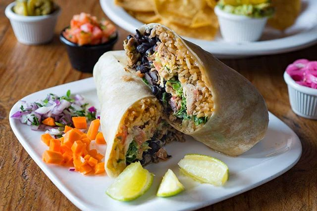 It's Wednesday, which means it's almost Friday, which means you can celebrate with a burrito. #ole #olerestaurantgroup #tasteofmexico #burrito #cambridgema
