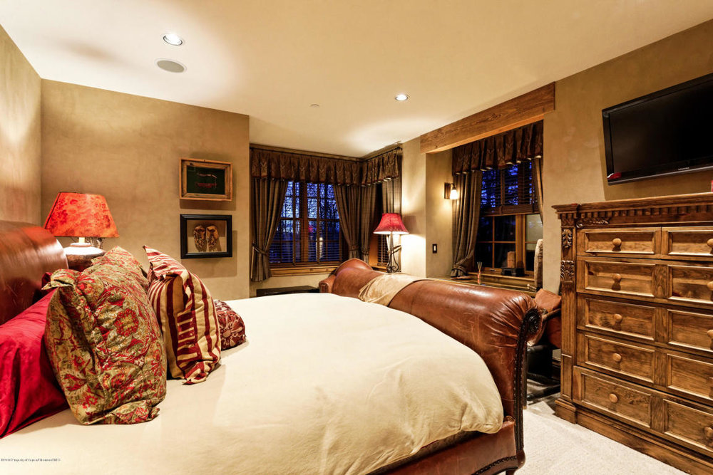 Large comfortable bedrooms.