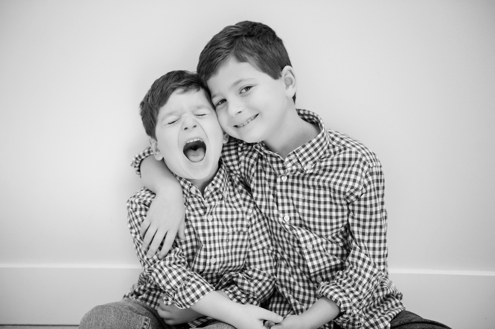 Brothers portraits