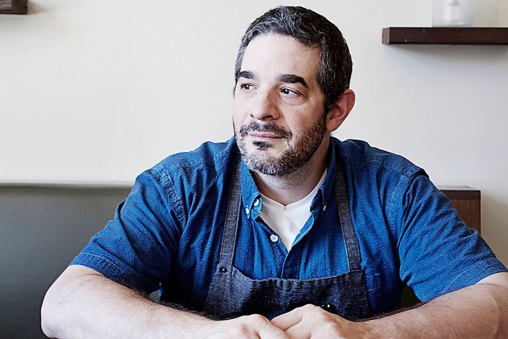 Jeremy Fox , chef, Rustic Canyon, author,  On Vegetables