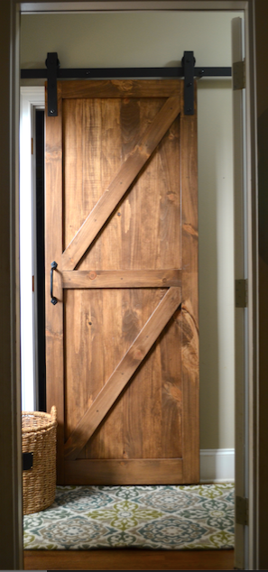 Barn Door designed by LMC Interior Designs www.lmcinteriordesigns.com