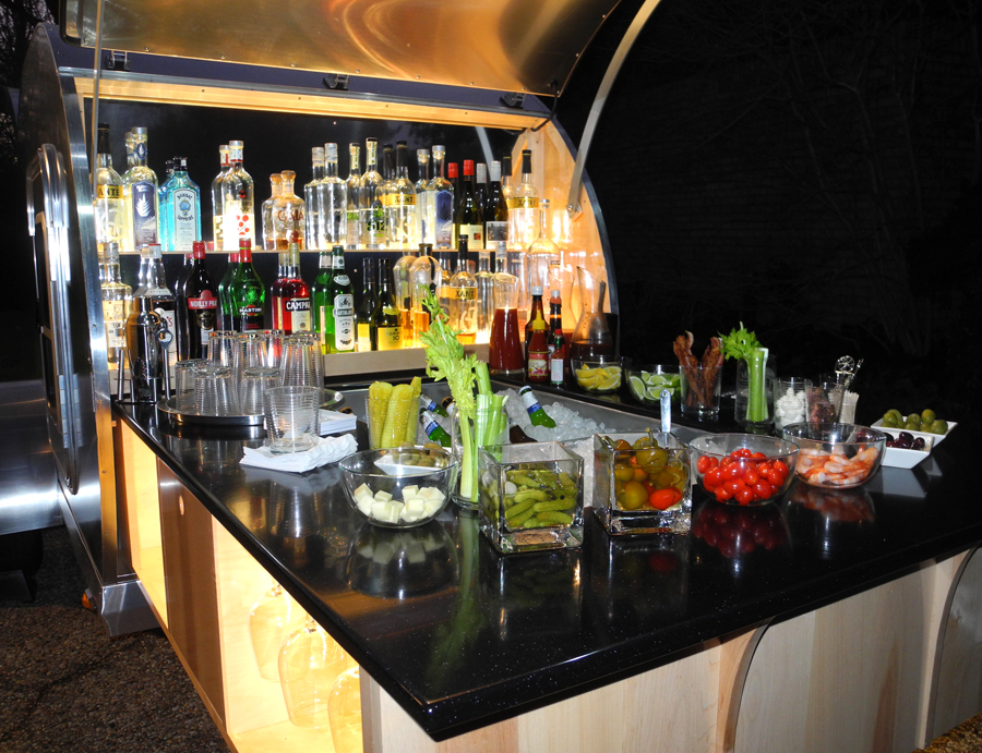 Bloody Mary Bar Buffet