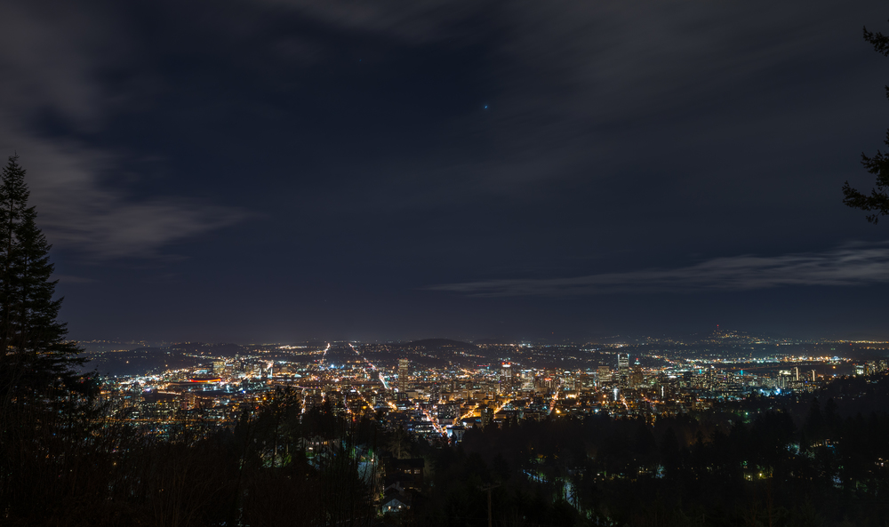 Wow. Hands down,best view of the city. Thank you Em for a rad evening and for showing me this spot!