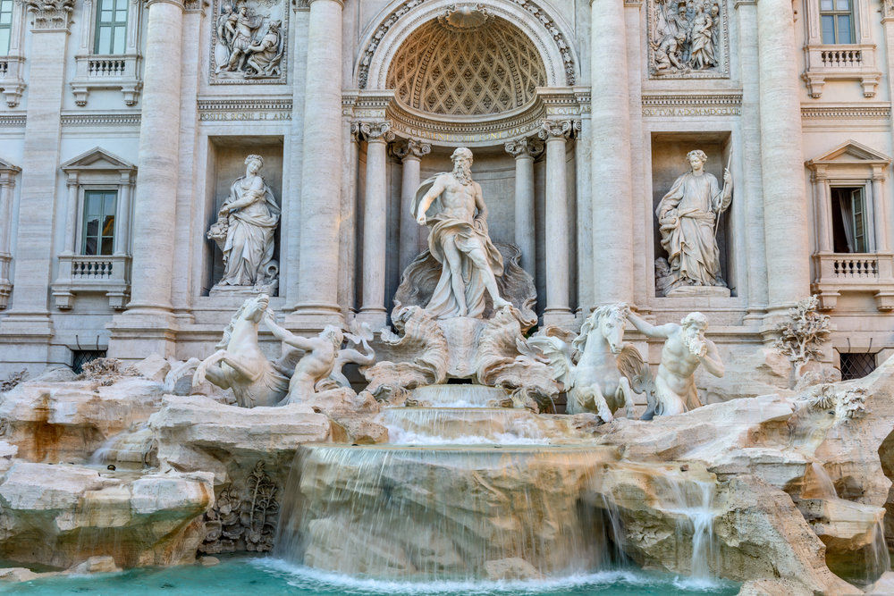 "Trevi Fountain - ""Hey now, Hey now this is what dreams are made of"" Roma, Italy"