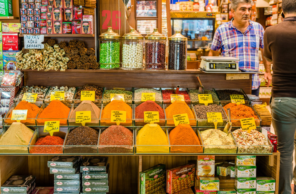 Spice Bazzar,Istanbul, Turkey