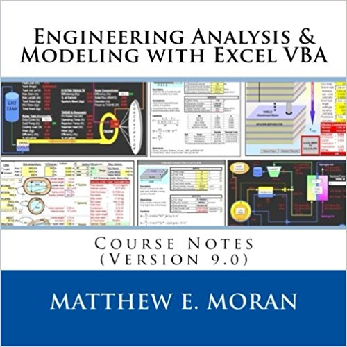 - Our popular 2-day course provides in-depth details on principles, practices, and implementation of Excel and its integrated programing language (VBA) for engineering analysis and model creation.Learned techniques and methods allow the creation of custom engineering models for: analyzing conceptual designs, creating system trades, simulating operation, optimizing performance, and more.The course has been taught to hundreds of participants since 2007, and hundreds more have purchased the published course notes. It has recently been brought in-house at: Wright-Patterson AFB, NASA JSC, and Navy SPAWAR through our training partner Applied Technology Institute. Contact us below for more information.