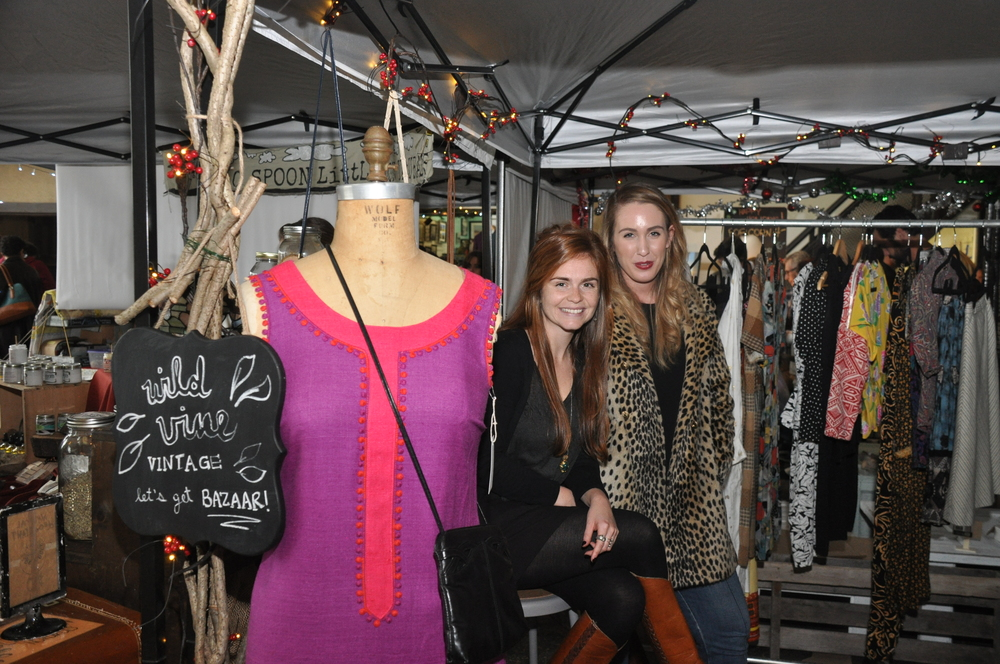 Kate Devine handpicks and sells vintage clothing under the name Wild Vine Vintage. Photo by Charleen Artese.