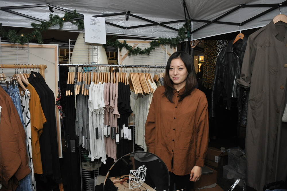 Amanda Vega of KALEIDOS,an online shop based in Virginia, hand-selects vintage and independently designed products that are ethically manufactured or handmade. Photo by Charleen Artese.