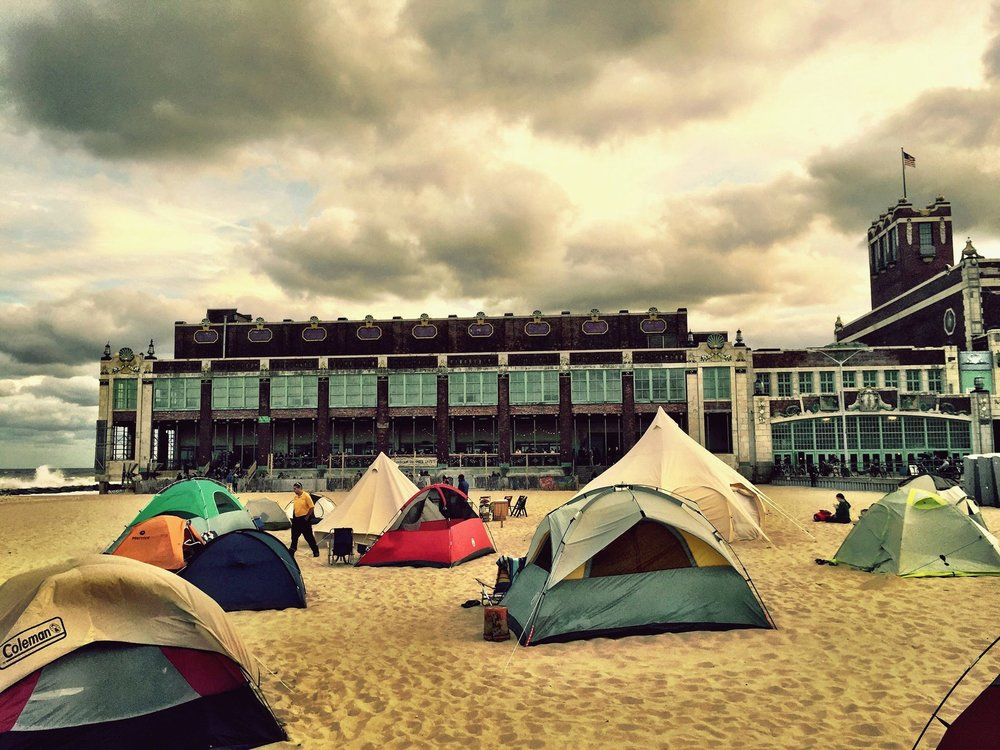 Beach Camping 2015. Photo by Jenny Vickers.