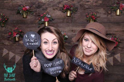 Pop Shop Photobooth brings the fun!