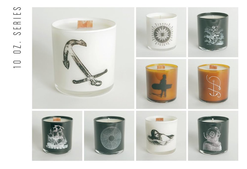 candles - helmsman candle co.