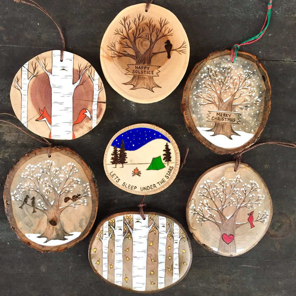 forage workshop - handmade wood products Sunday