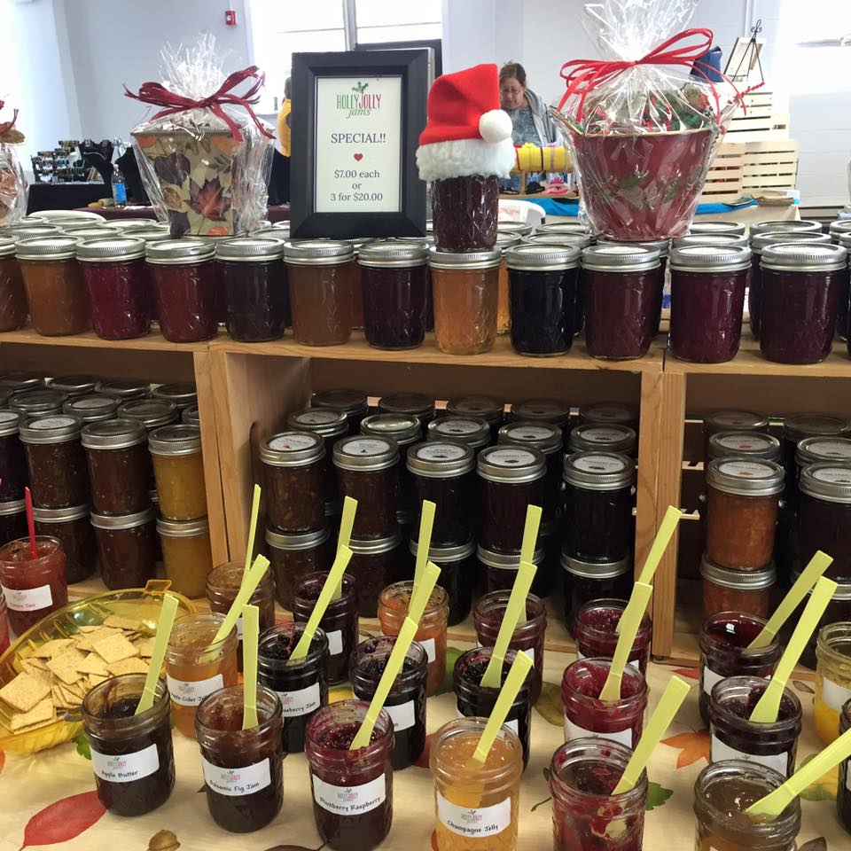holly jolly jams - artisanal jams & Jellies Sunday