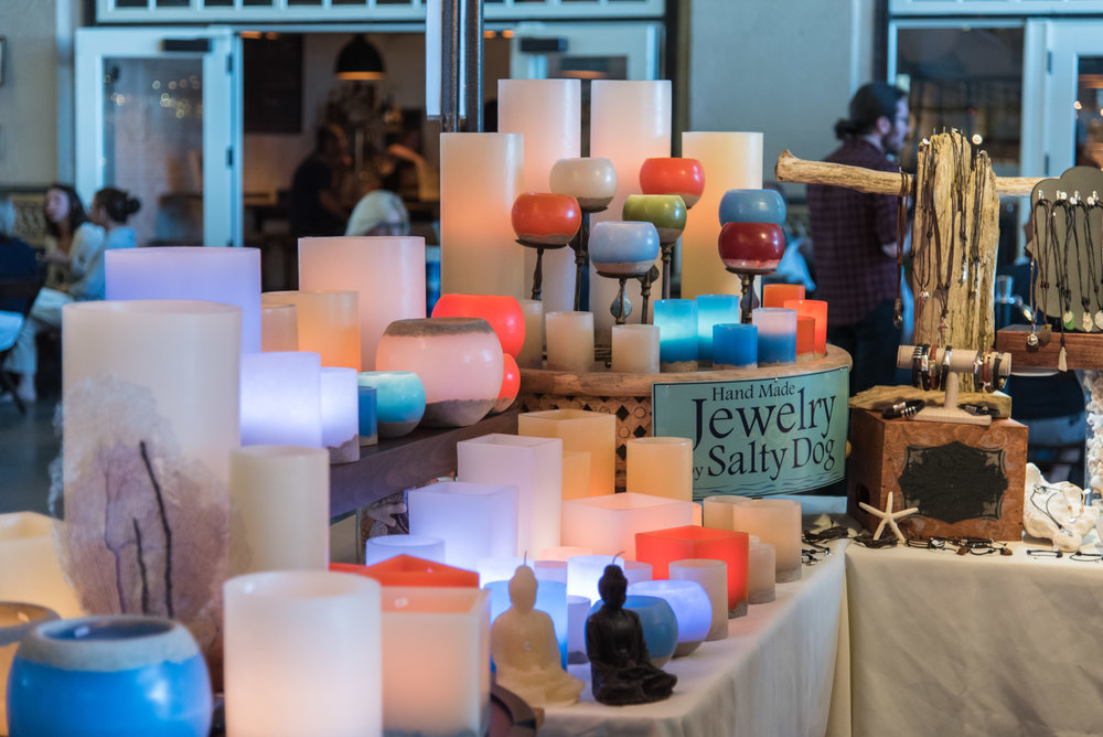 ocean glow boutique - handmade luminaries sunday