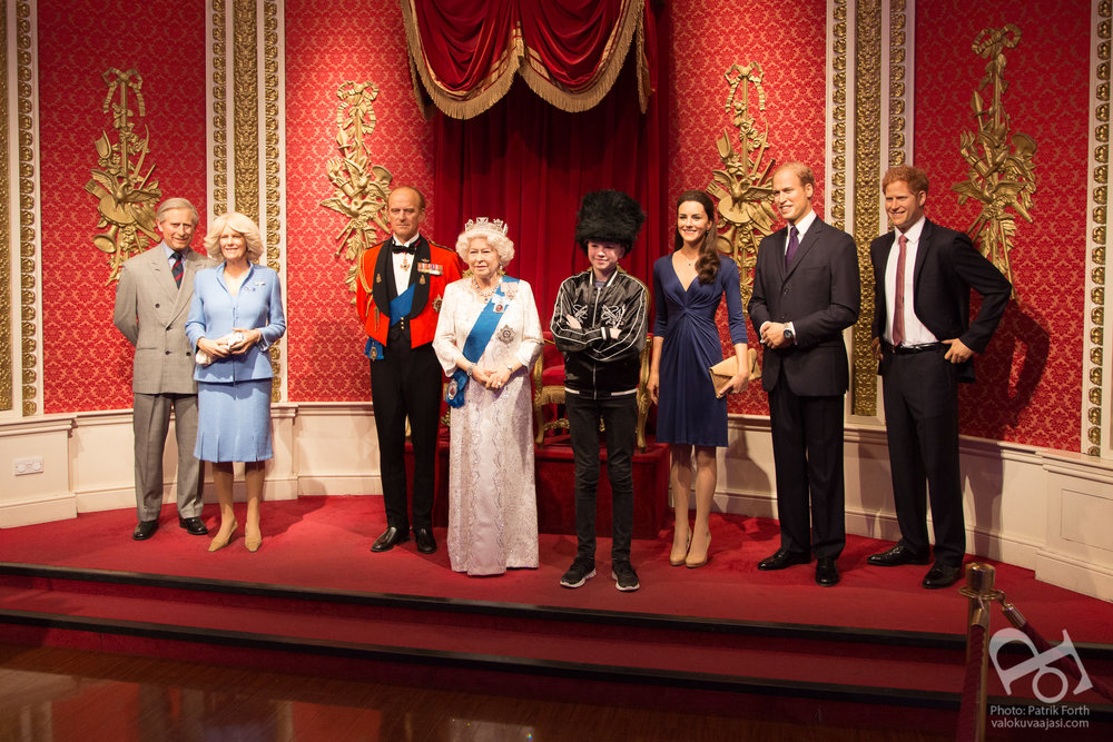 Madame Tussauds - The Royal Family