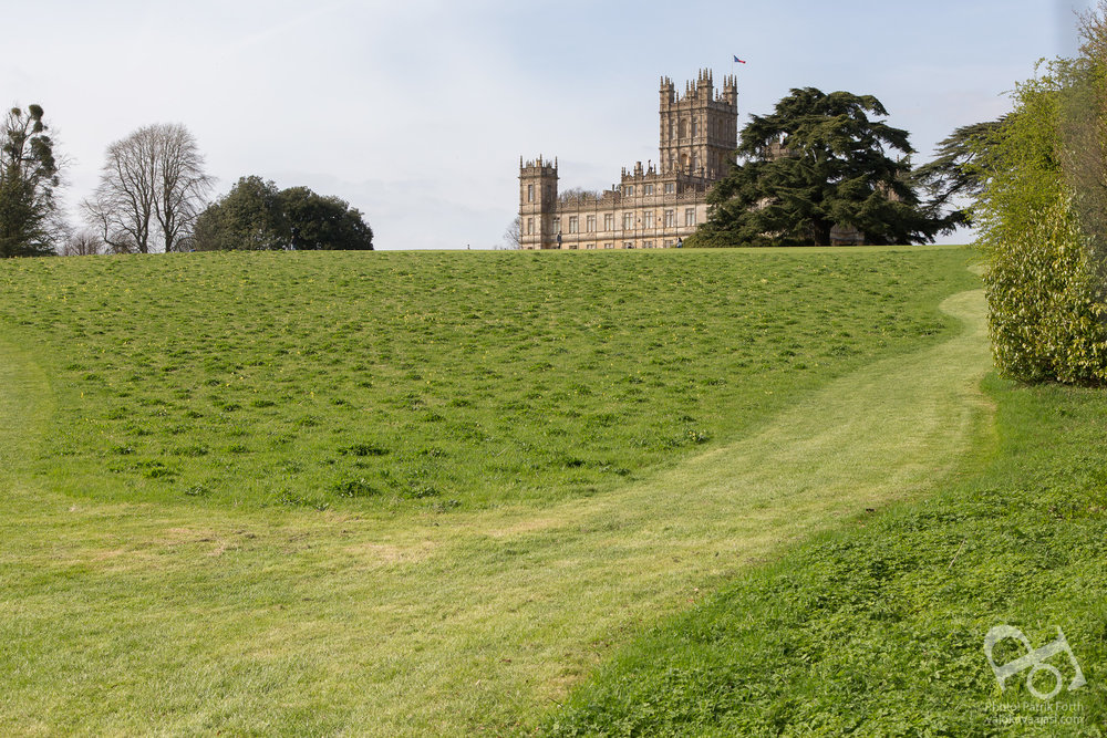 South Lawns at Highclere Castle