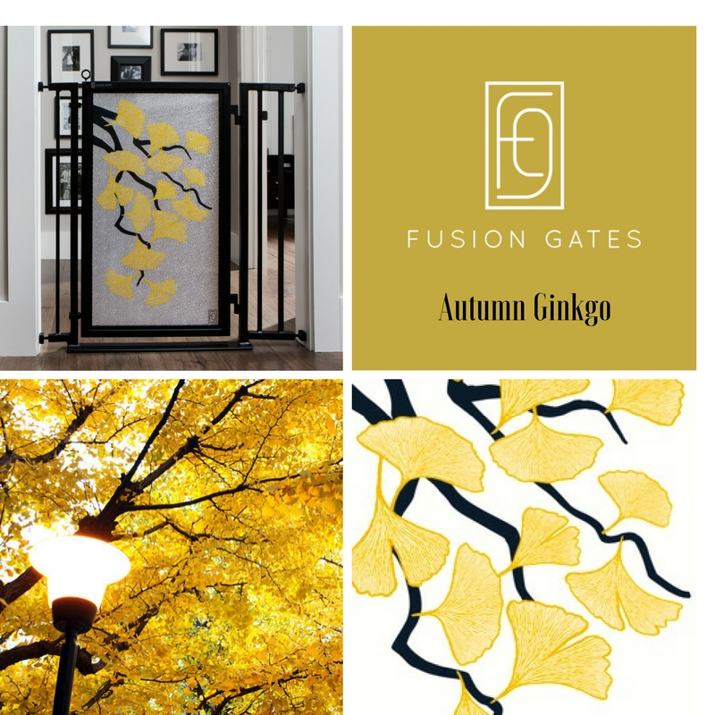 Pow!!! And just like that, nature intensifies our senses with colors almost too beautiful to capture. Known for it's beauty and longevity, the Ginkgo Biloba plant was illustrated in two of our new art screens this fall.  The Autumn Ginkgo art screen shows off the ginkgo's fervent gold leaves that brighten city streets on cool fall days from New York to Tokyo to London.  Beauty and longevity...I'll take some of that!