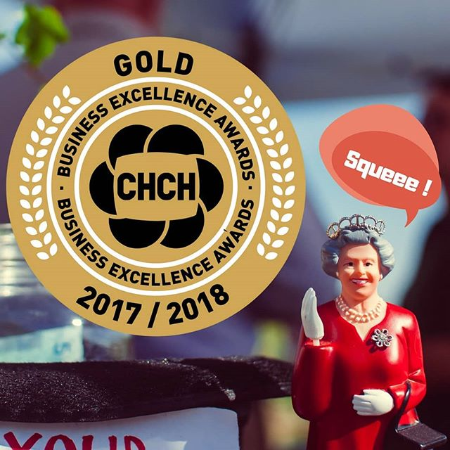 Absolutely tickled to be awarded GOLD for the @chchtv Business Excellence Awards