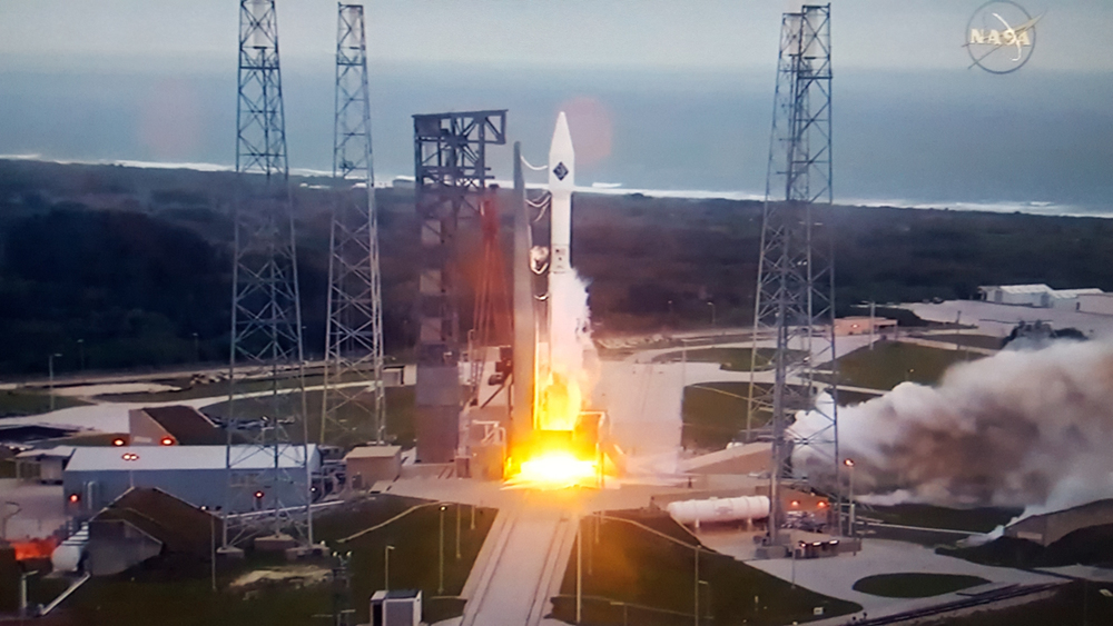 5...4...3...2...1...BLAST OFF! The Cygnus is now orbiting the Earth and will connect with ISS on Weds.