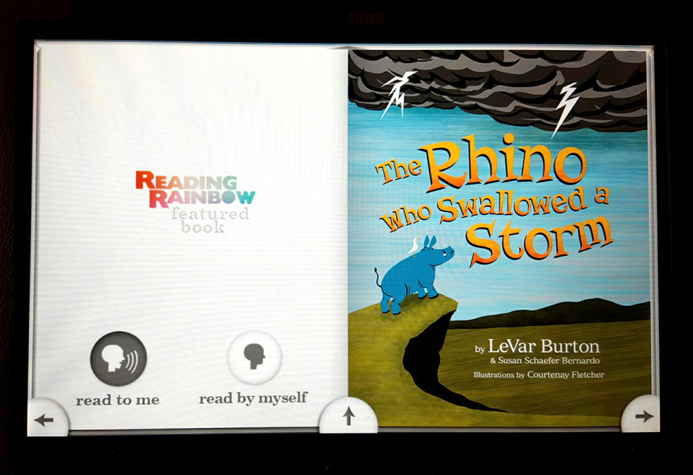 Reading Rainbow Skybrary app
